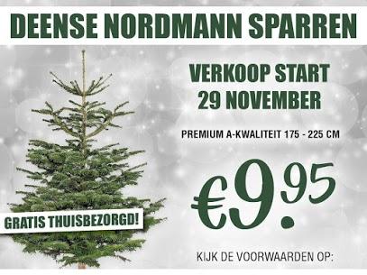 Koop uw Kertboom bij het VTC. Deense Nordmann Sparren, te koop vanaf 29 november 2019